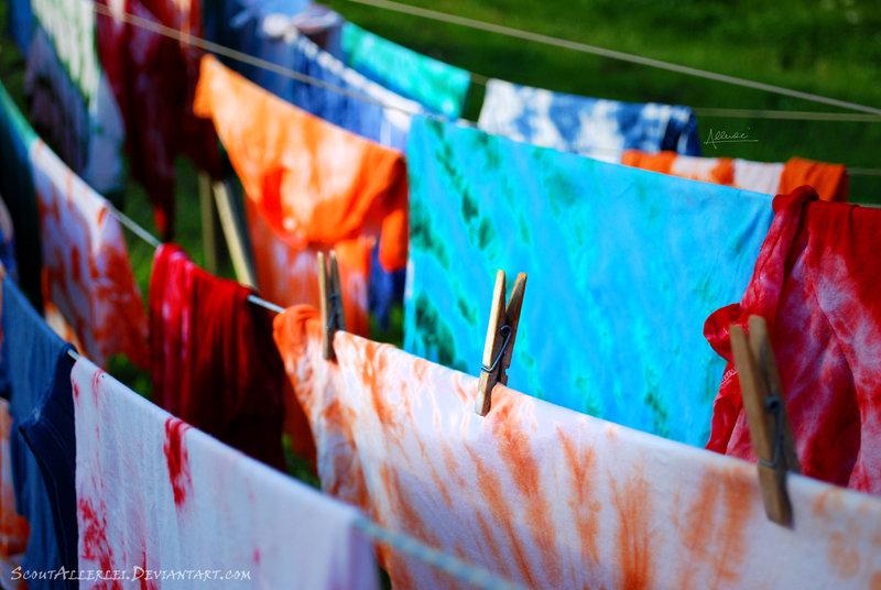 tie & dye T shirt